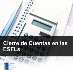 Cierre de Cuentas en las ESFLs